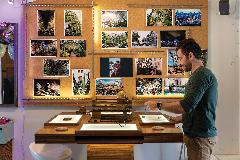 Ryan Benoit #secretlivesweek gardening inventions living tables secret lives san diegans san diego