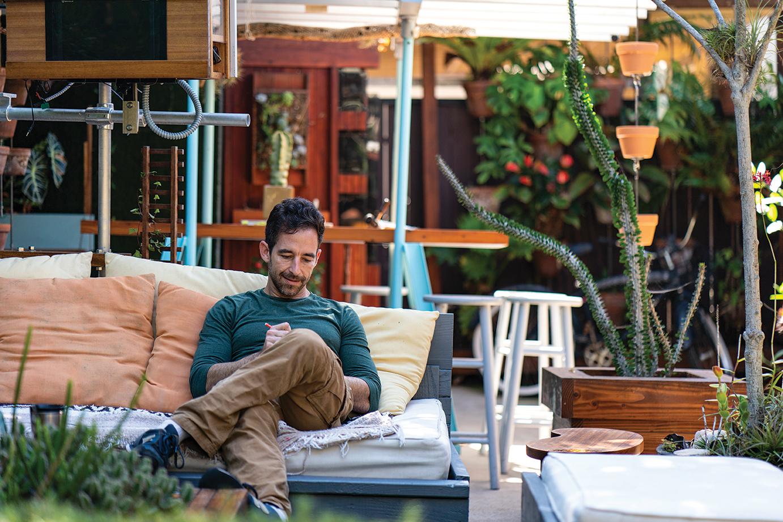 Ryan Benoit #secretlivesweek gardening futon carpentry design san diego