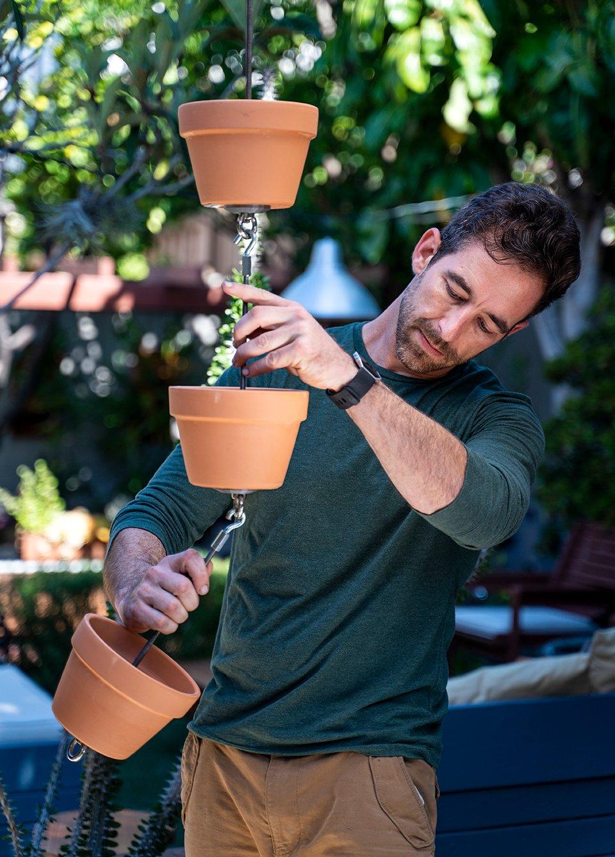 Ryan Benoit #secretlivesweek secret life san diego garden vertical gardening