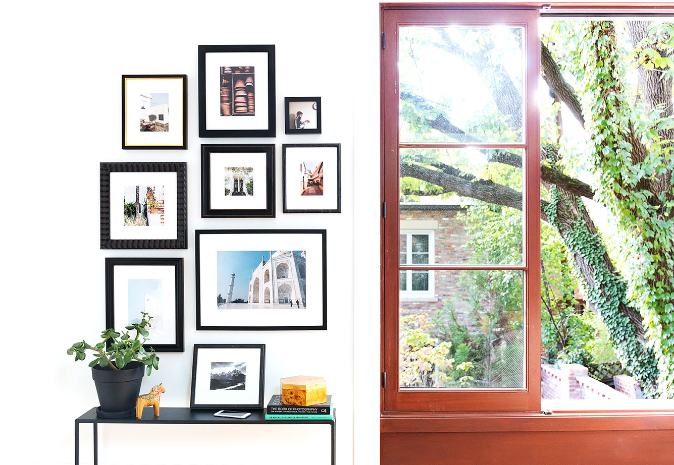 gallery wall #sdsmallspaces small spaces art