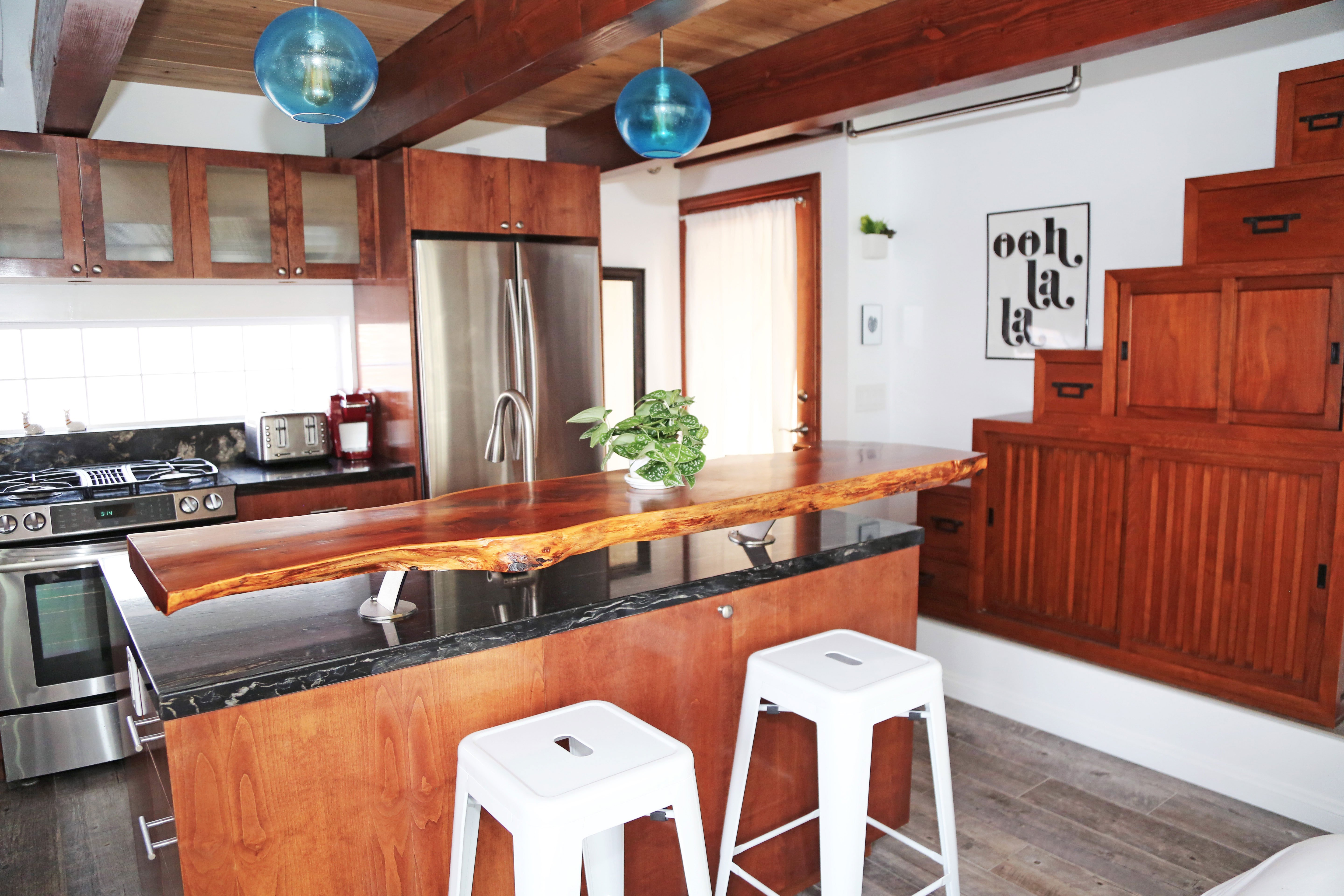 tiny house style kitchen small spaces #sdsmallspaces