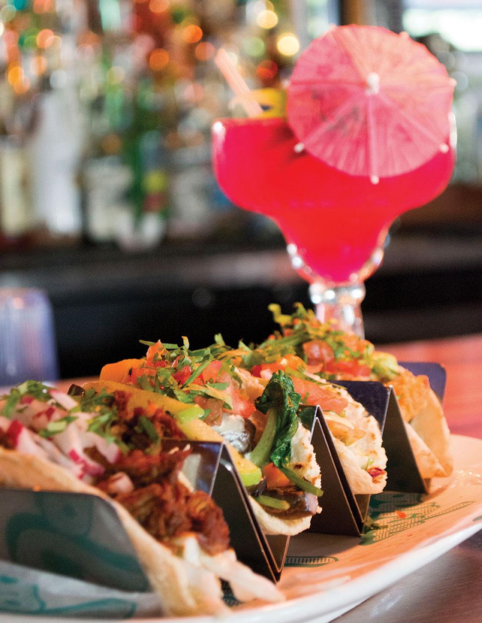 phoenix dining travel Joyride Tacos blood orange margarita