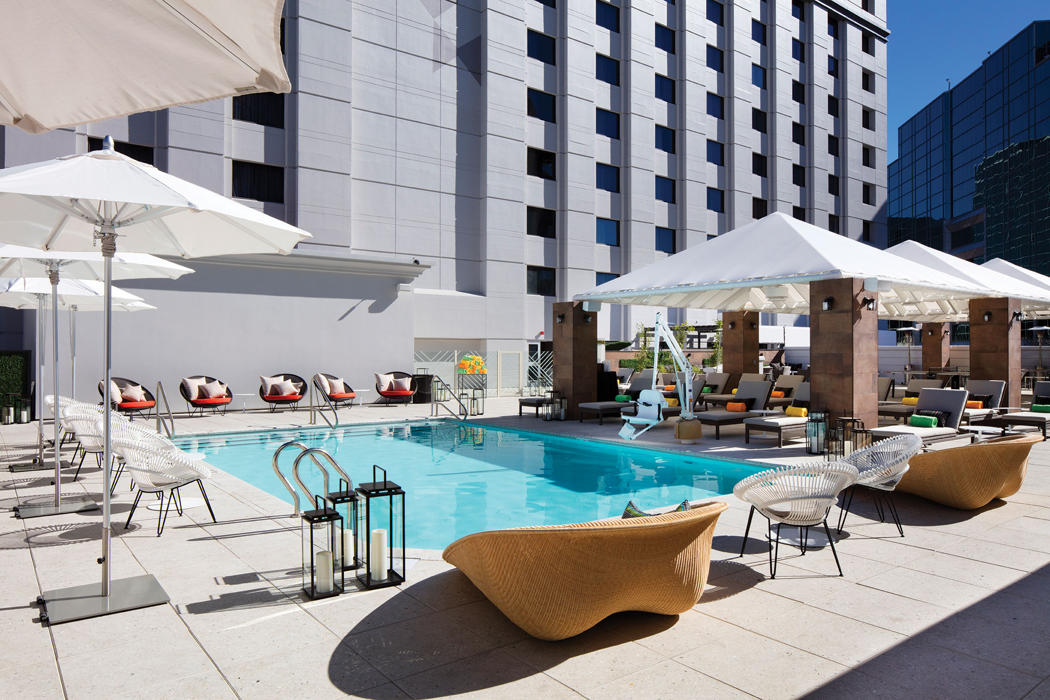 Phoenix hotels The Camby rooftop pool arizona travel