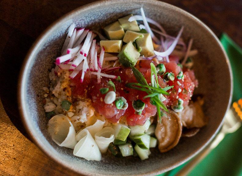 phoenix dining restaurants The Henry tuna poke bowl