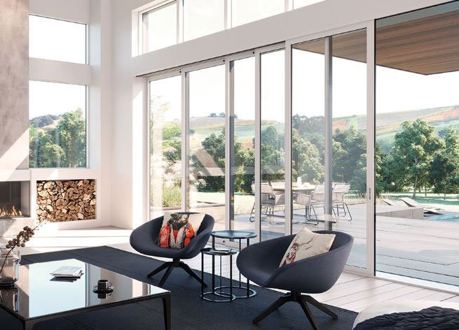 Marvin Modern modular Priority doors and windows San Diego