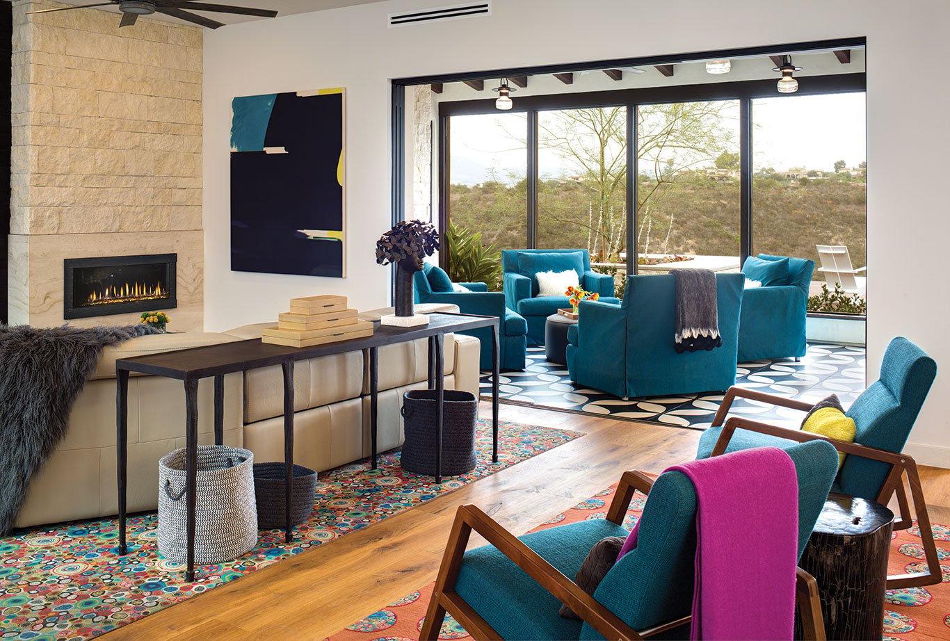 Texas in California san diego home design canyon color