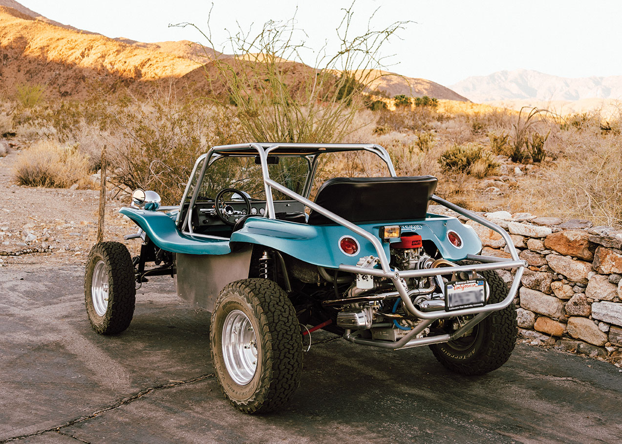 1972 VW Meyers Manx dune buggy melissa young dean loring anza borrego