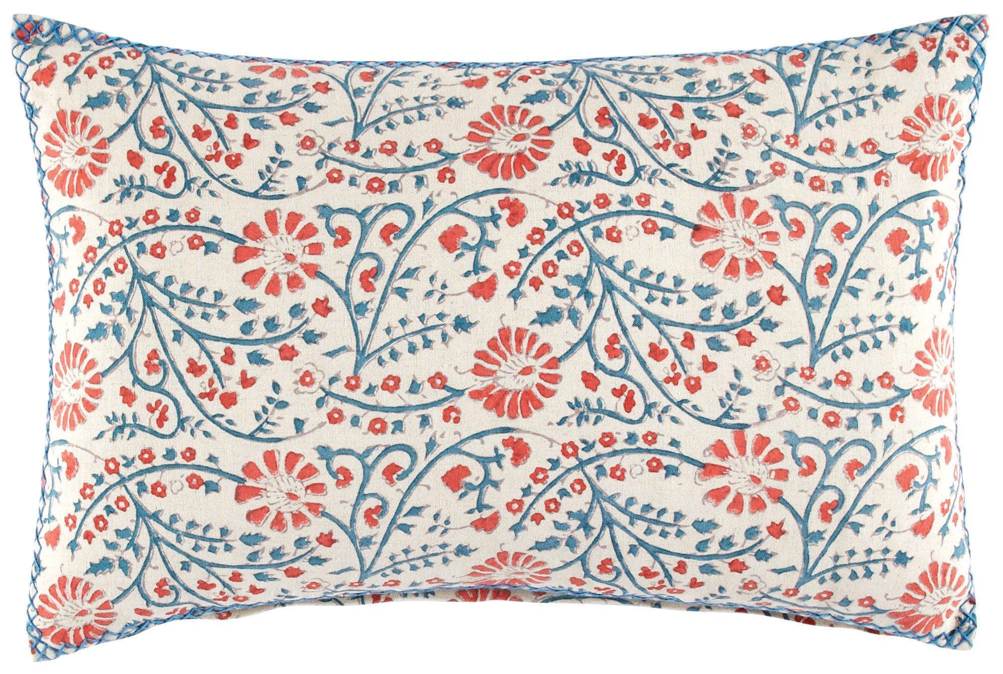 Cancer zodiac sign design John Robshaw Nansi decorative pillow