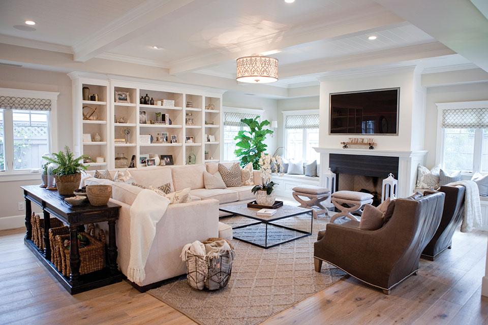 gemini zodiac design bungalow 56 living room built in bookshelves