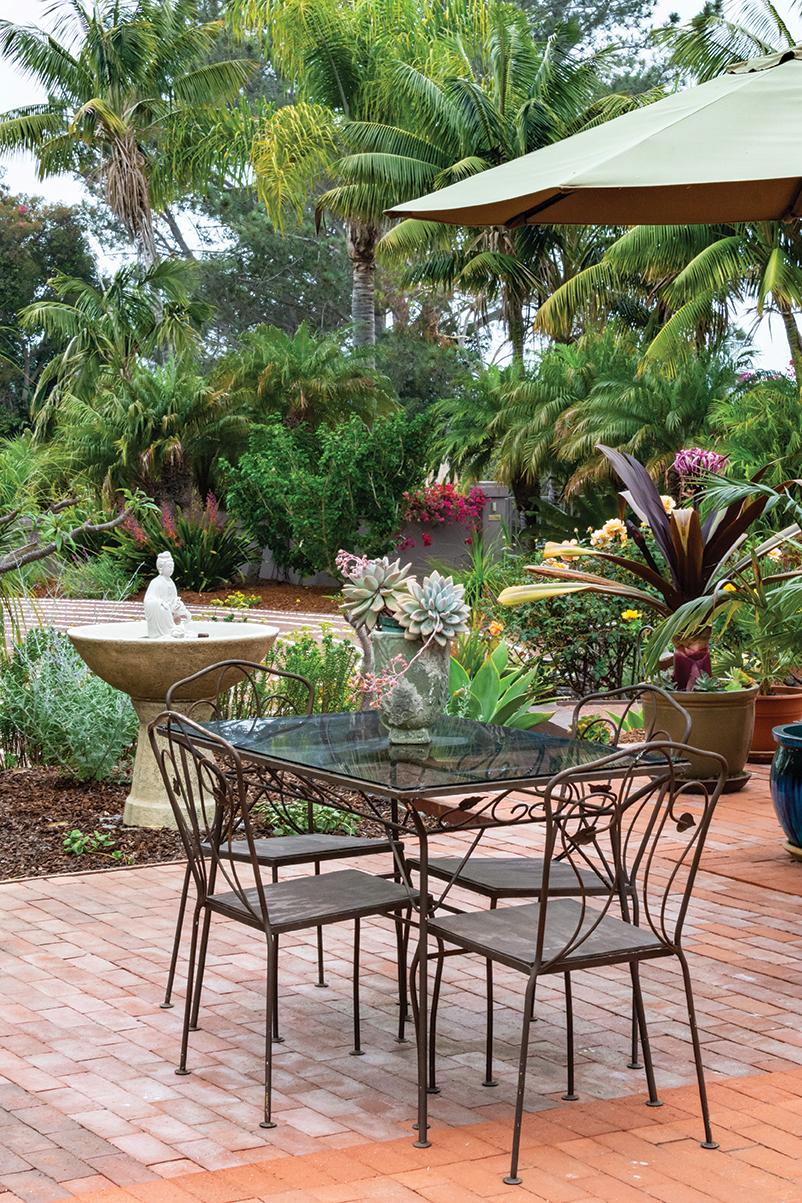 palms garden leucadia san diego home garden magazine