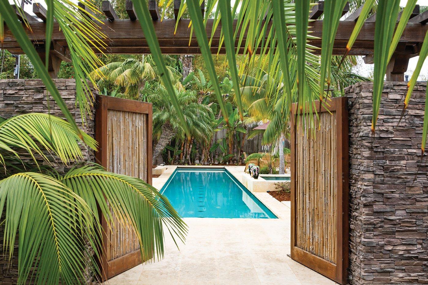 lap pool garden leucadia san diego home garden lifestyles