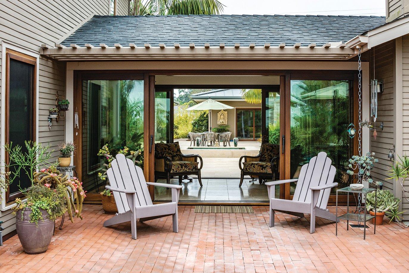 lap pool garden adirondack chairs san diego home garden lifestyles magazine leucadia landscape