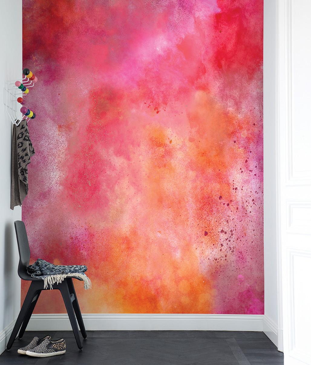 Rebel Walls wallpaper color clouds chilli leo design zodiac