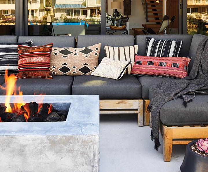 fire pit Sagittarius zodiac jette creative design outdoor living