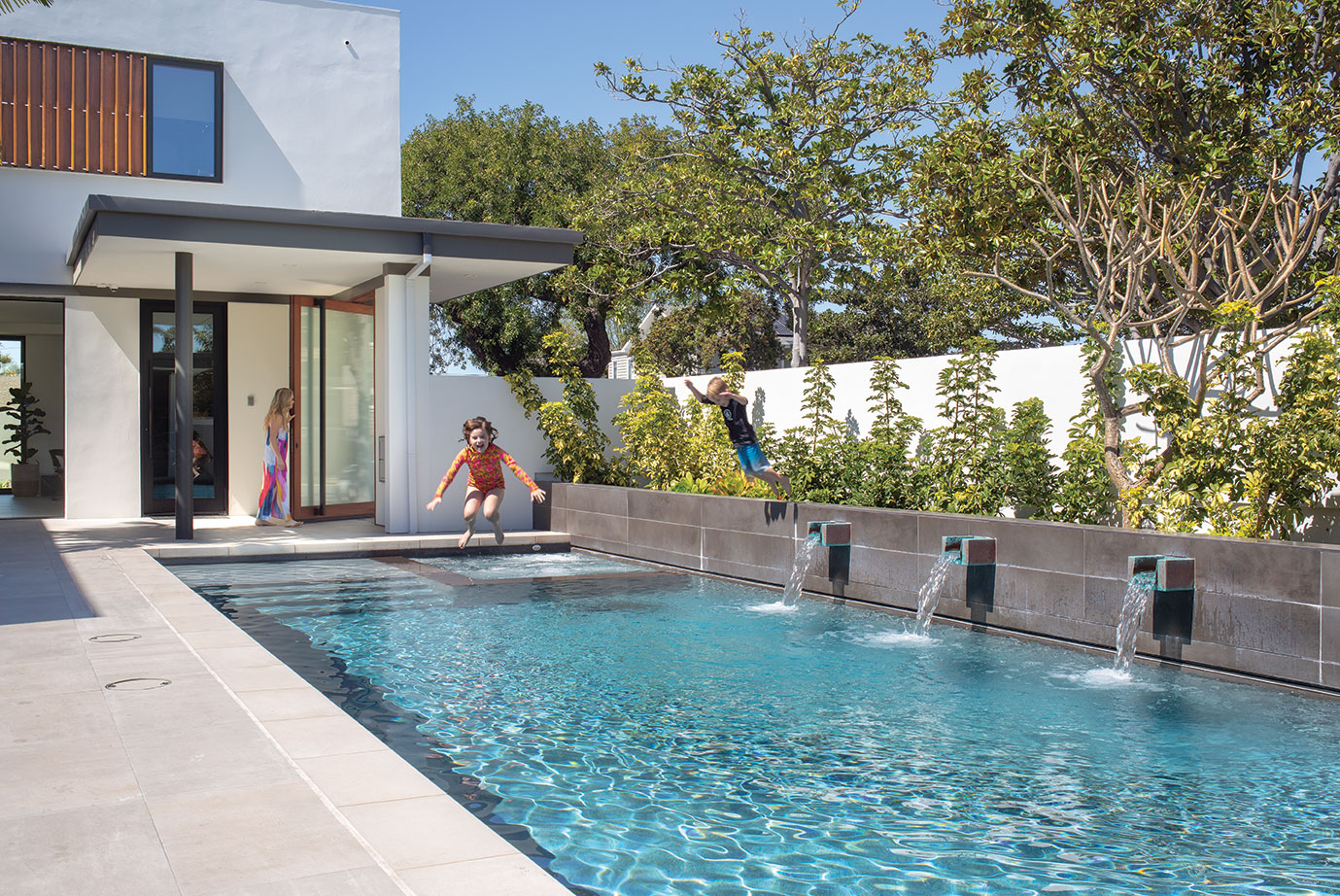 modern family home coronado pool kid friendly