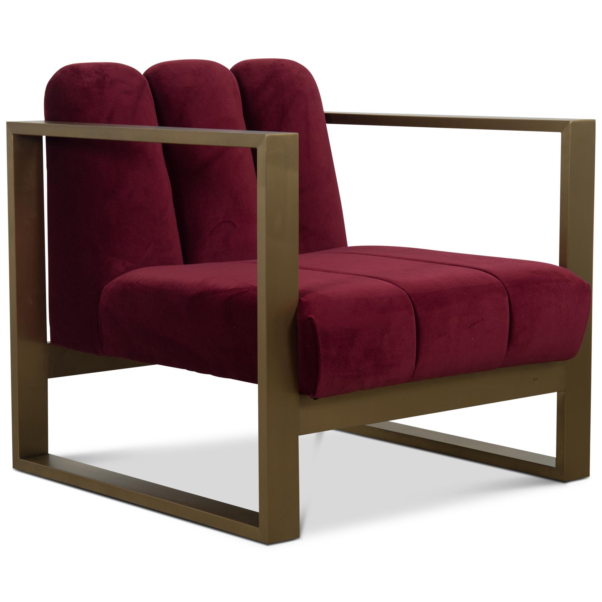 Leo scallop kube chair modshop zodiac design