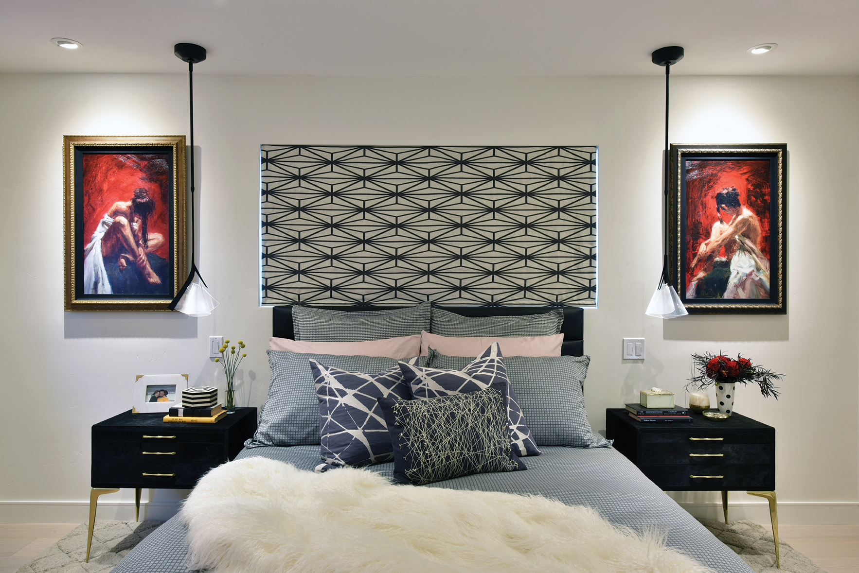 scorpio design zodiac sign bedroom art