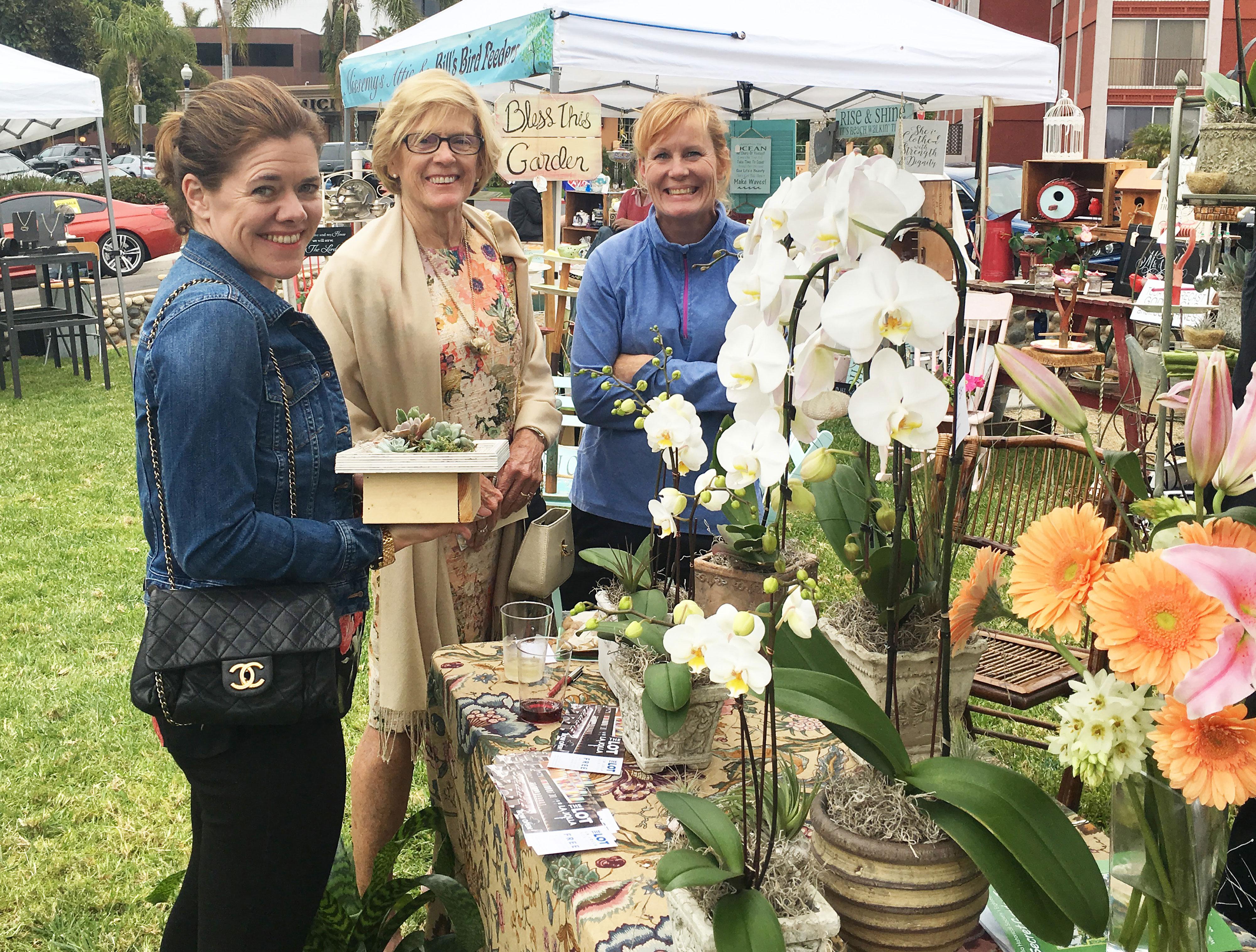 La Jolla Secret Garden Tour wisteria cottage shopping