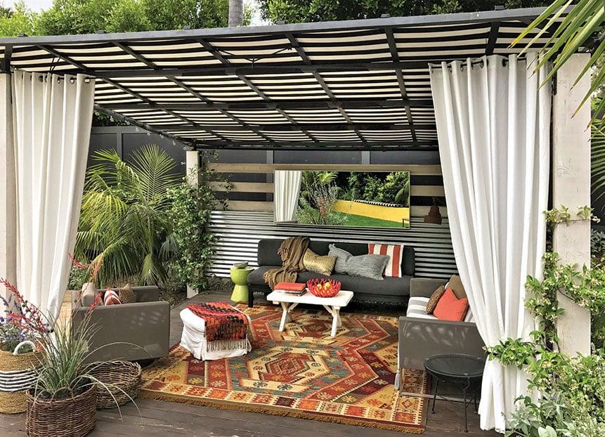 pergola garden room burle yates design