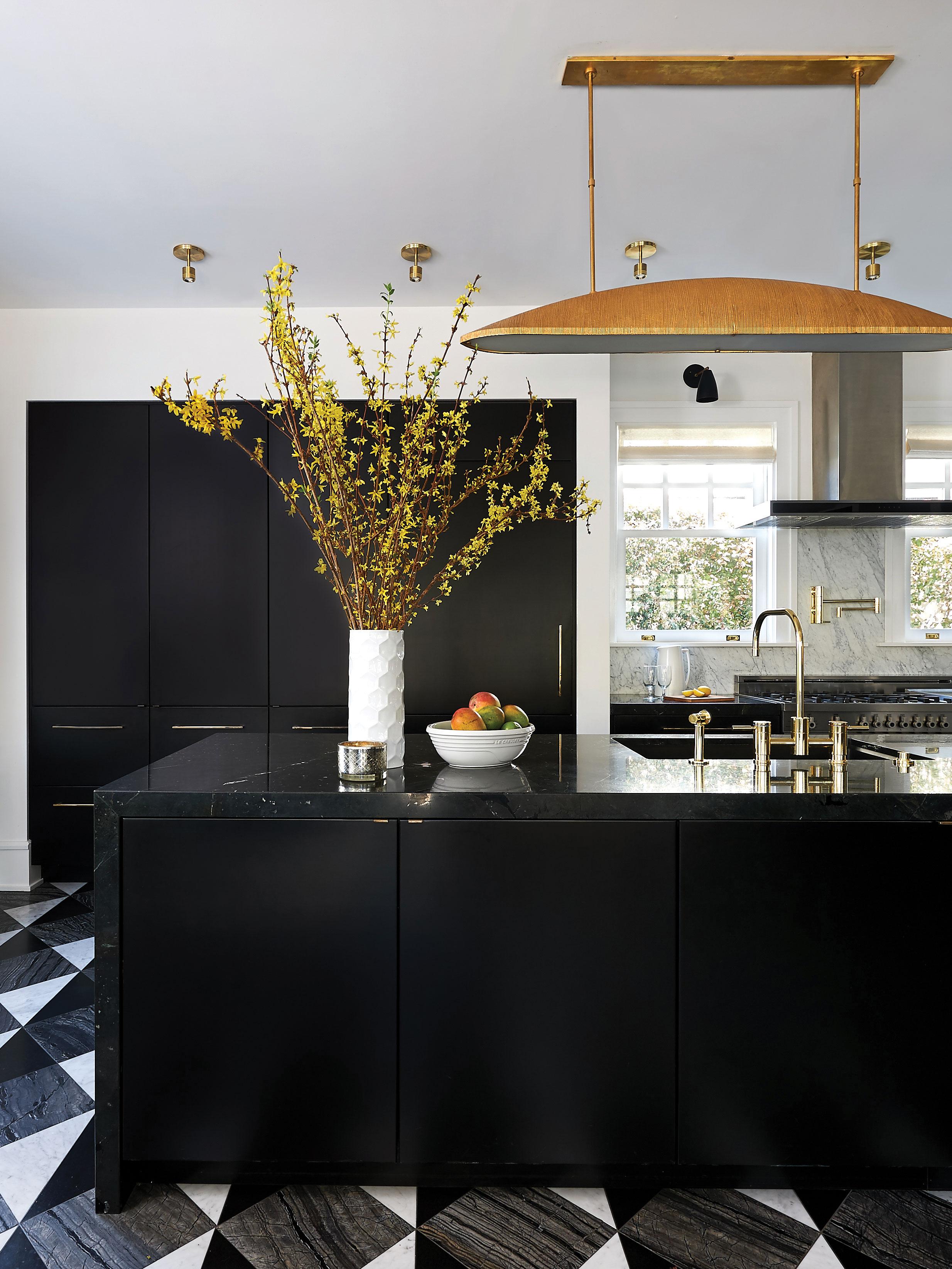 black kitchen rake metal pendant san diego van gogh flooring