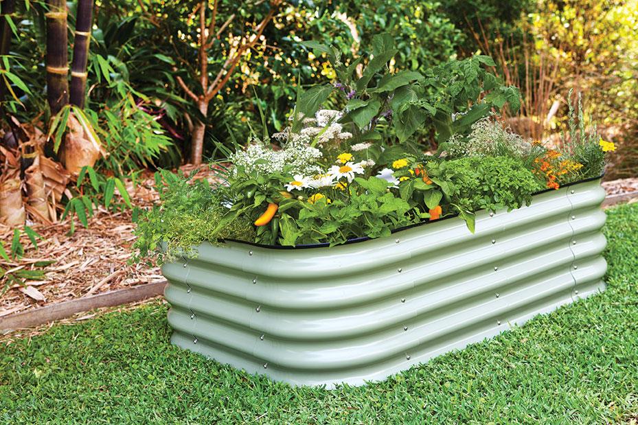 Birdies raised beds raised bed gardening planters metal