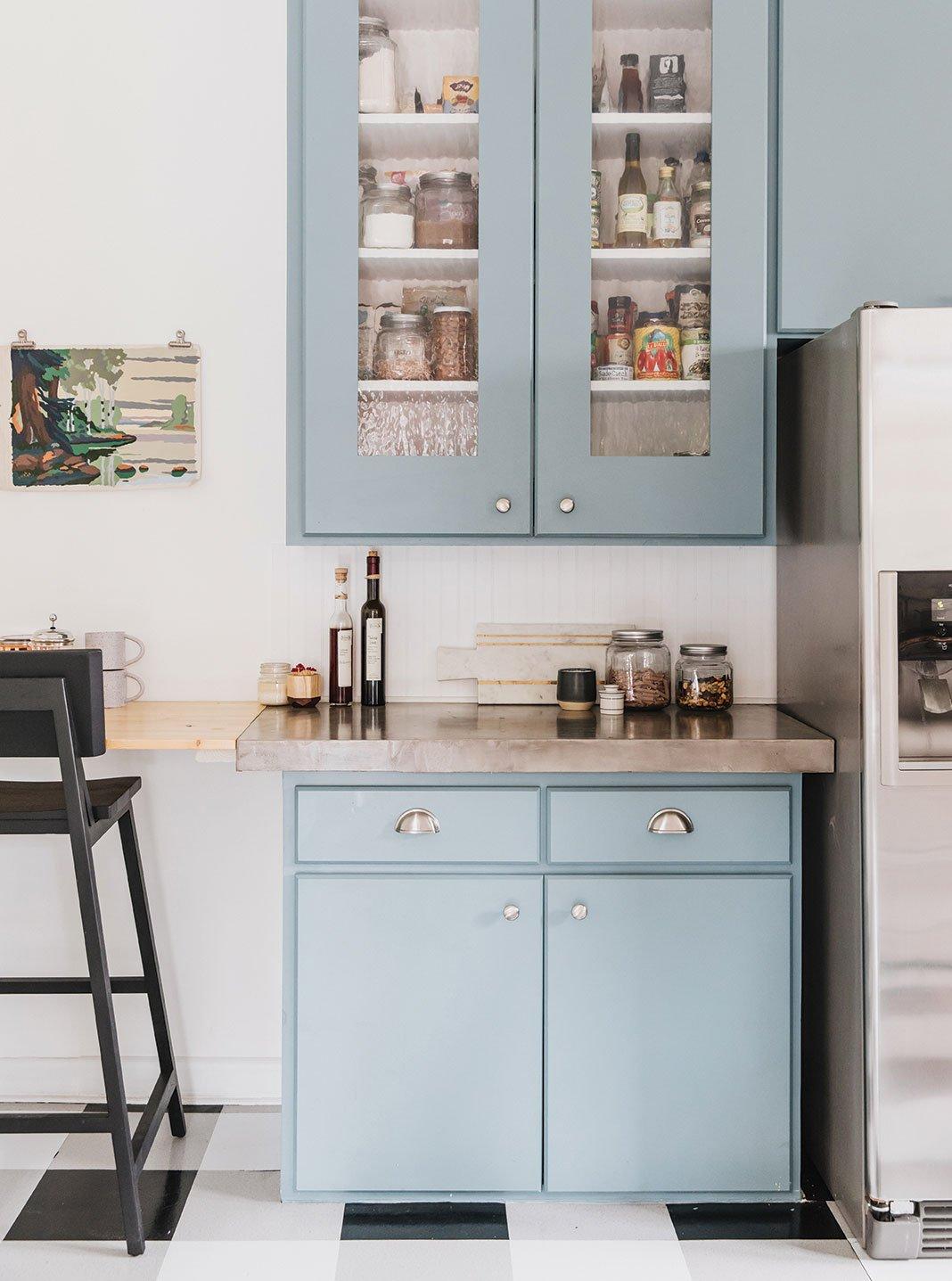 DIY kitchen retro vintage historic