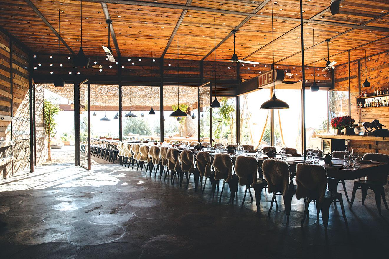 Fauna Restaurante valle de guadalupe mexico baja travel dining Bruma