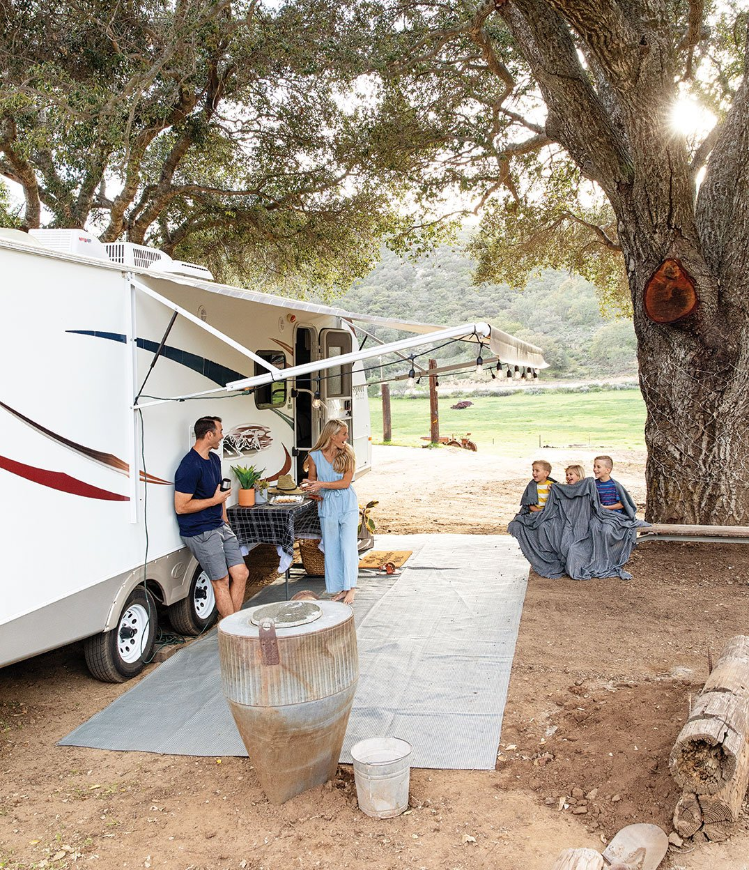 walker campers trailers RVs rentals san diego family camping