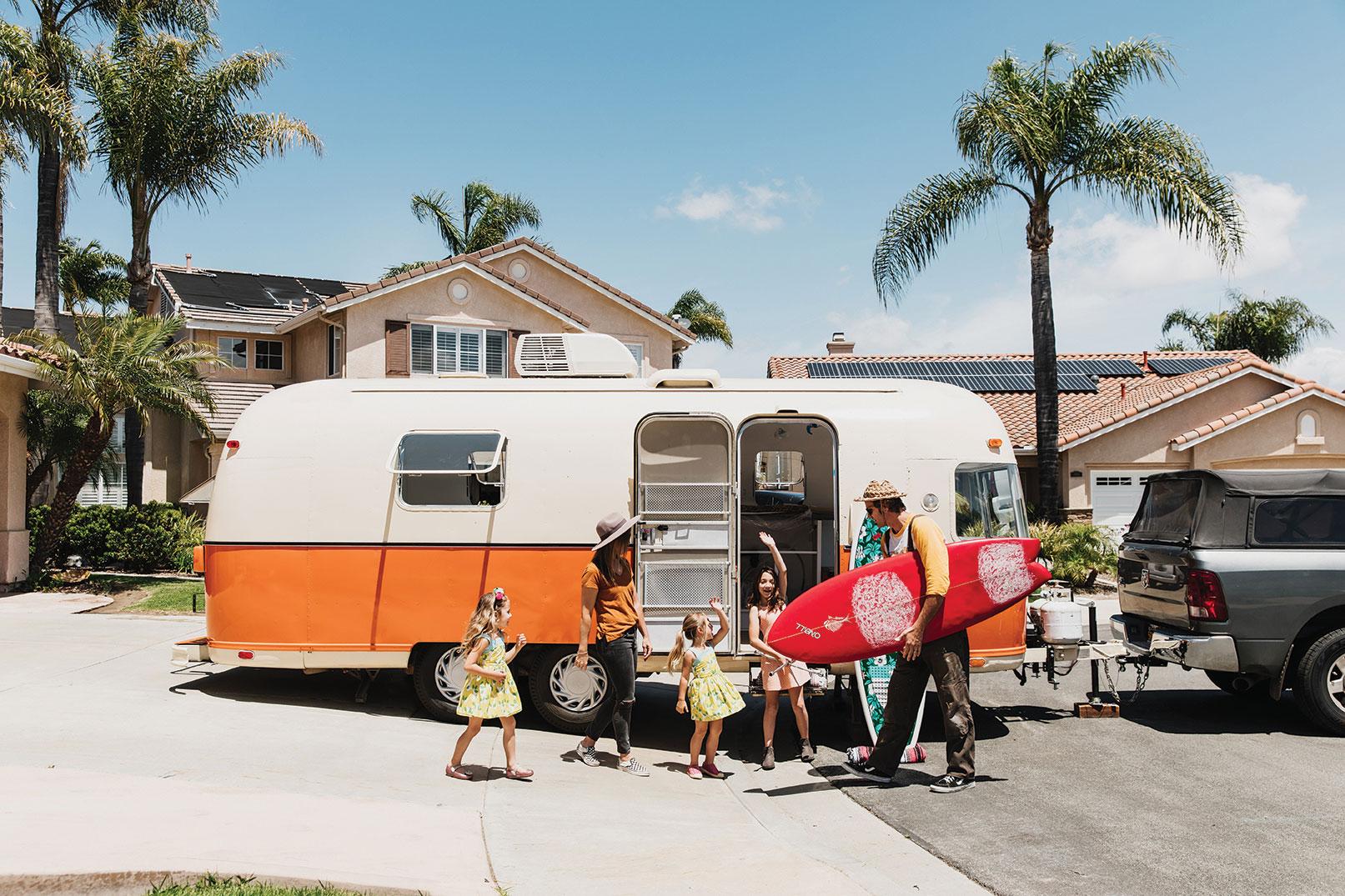vintage argosy remodel san diego oceanside nomadic family life