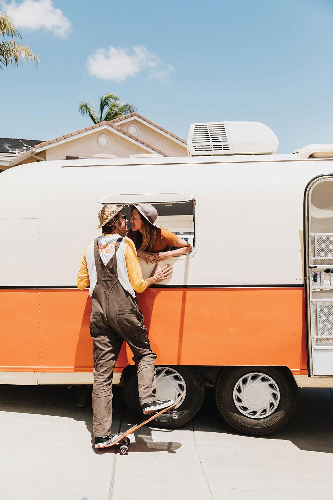 vintage argosy remodel trailer family