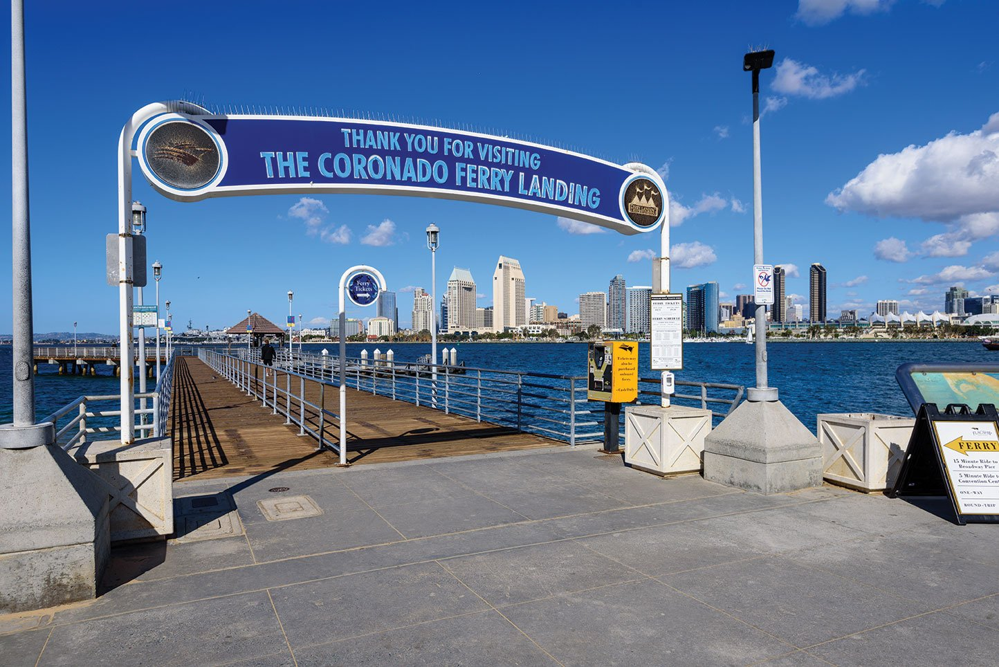 coronado ferry landing