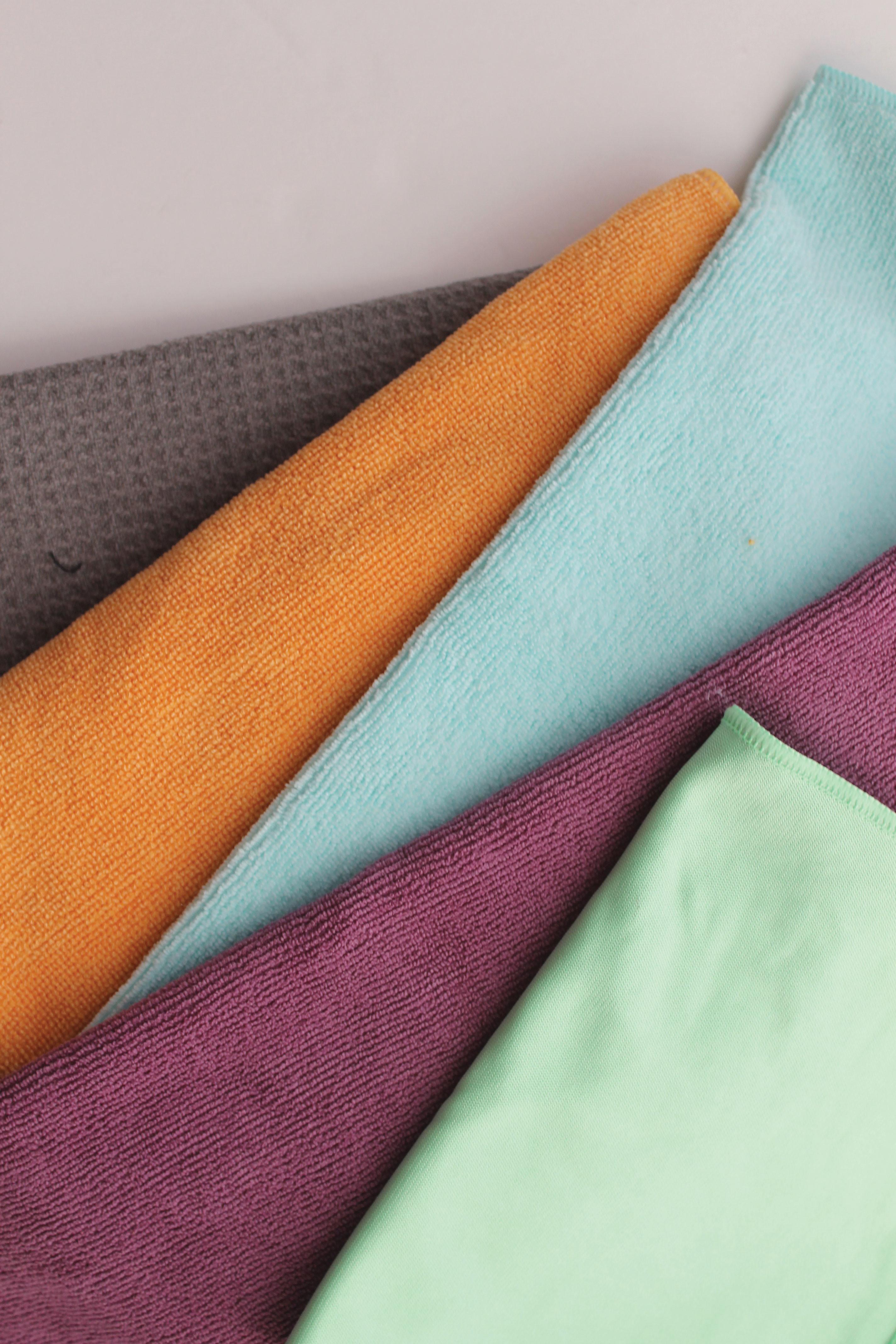 kait schulhof san diego sustainability microfiber cloths