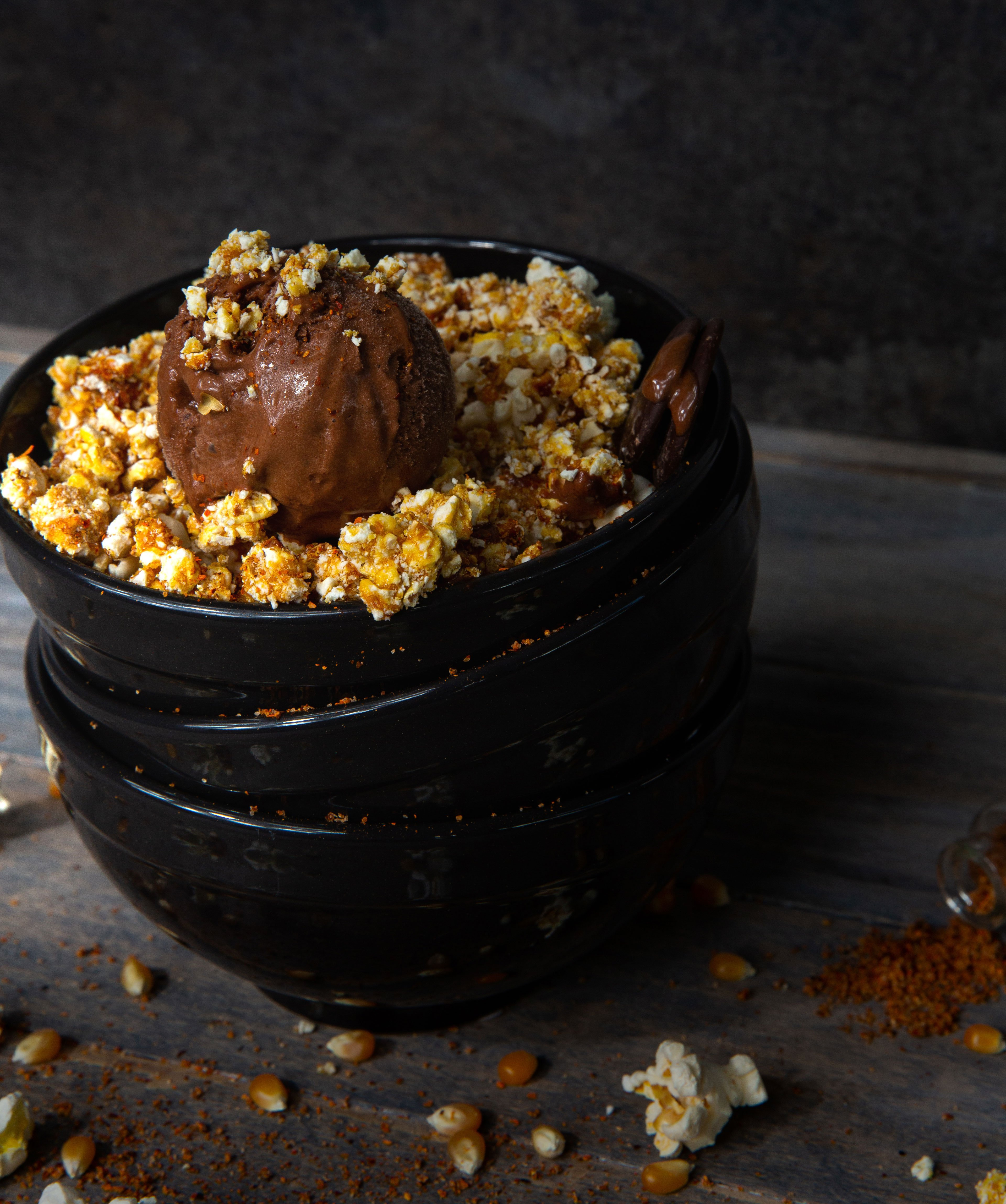 An's Dry Cleaning and specialty produce chocolate popcorn and tajin gelato san diego