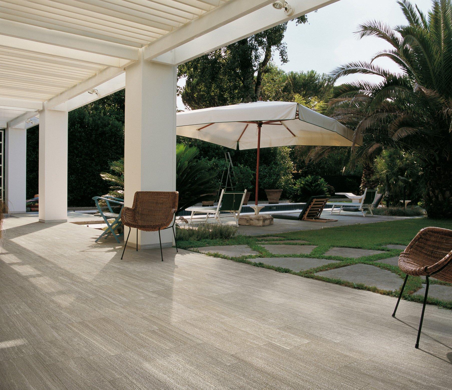 outdoor tile textured near a pool San Diego Marble Tile