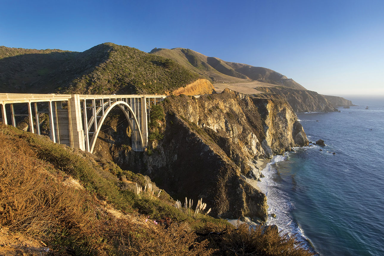 big sur Bixby Creek Bridge california coast