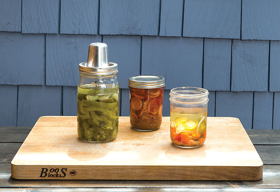 lacto-fermentation jars seals airlock fermenting weights