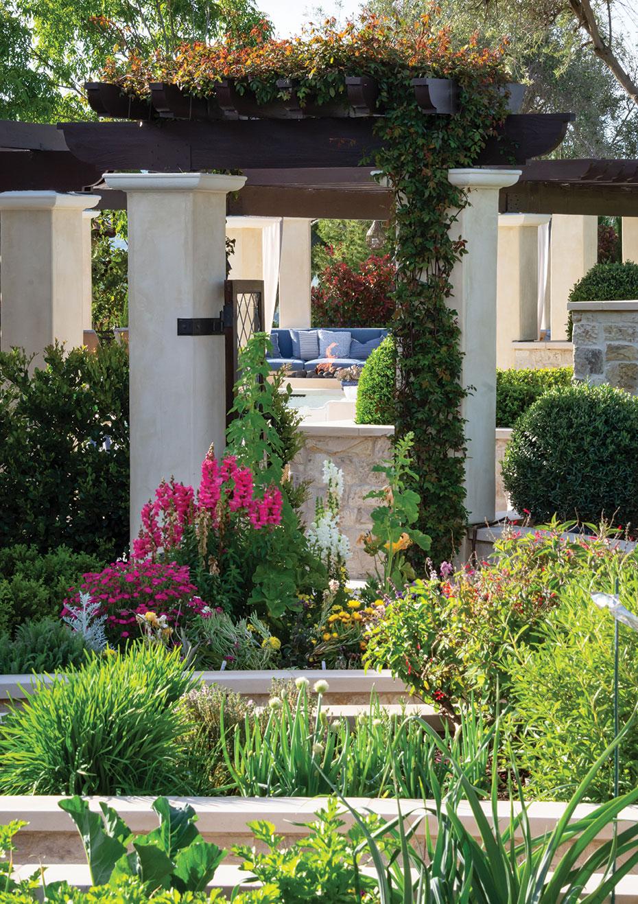 formal garden san diego herb garden