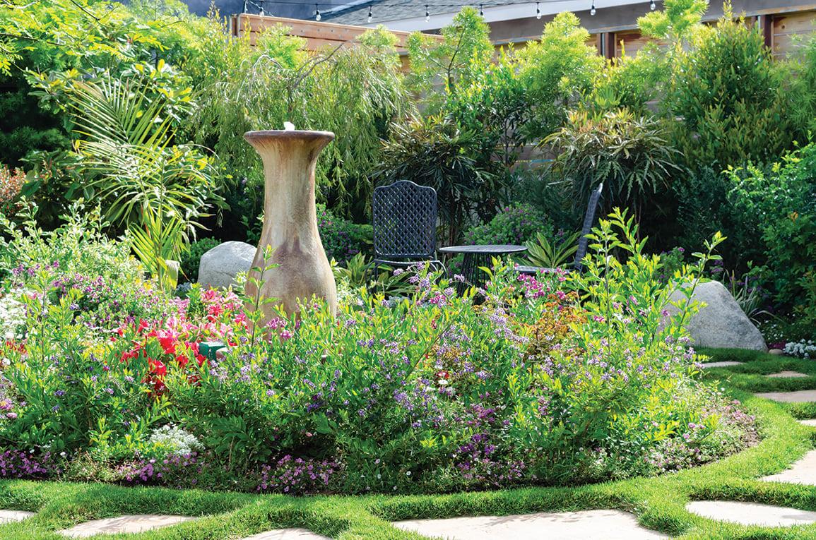 california cottage garden