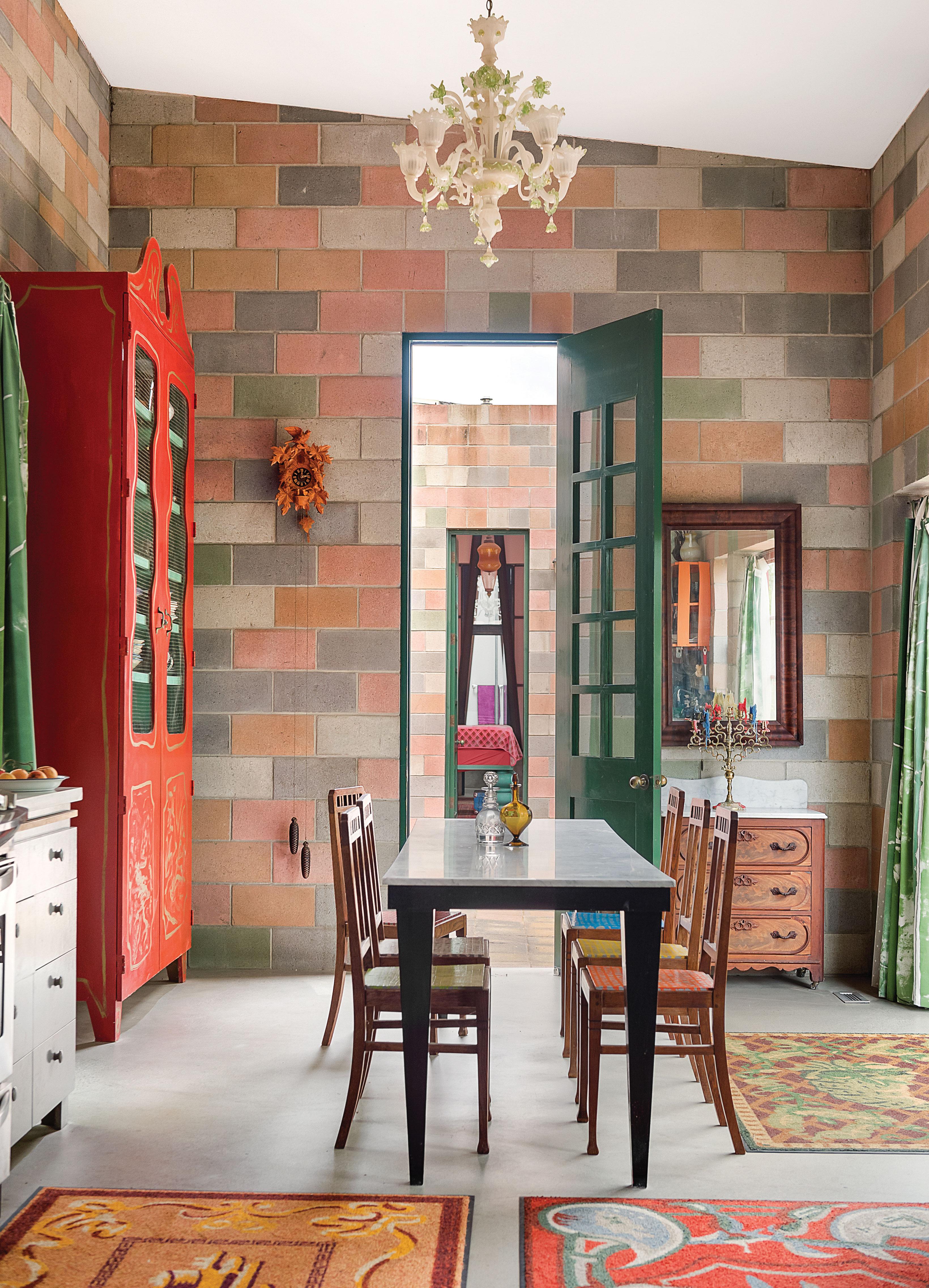 jean lowe and kim macconnel artists art san diego home kitchen