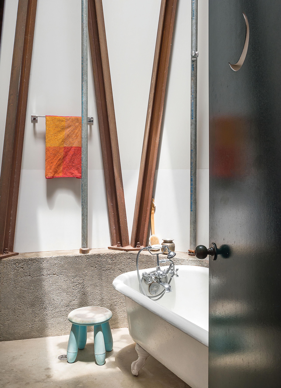 jean lowe and kim macconnel artists art san diego home silo bathroom