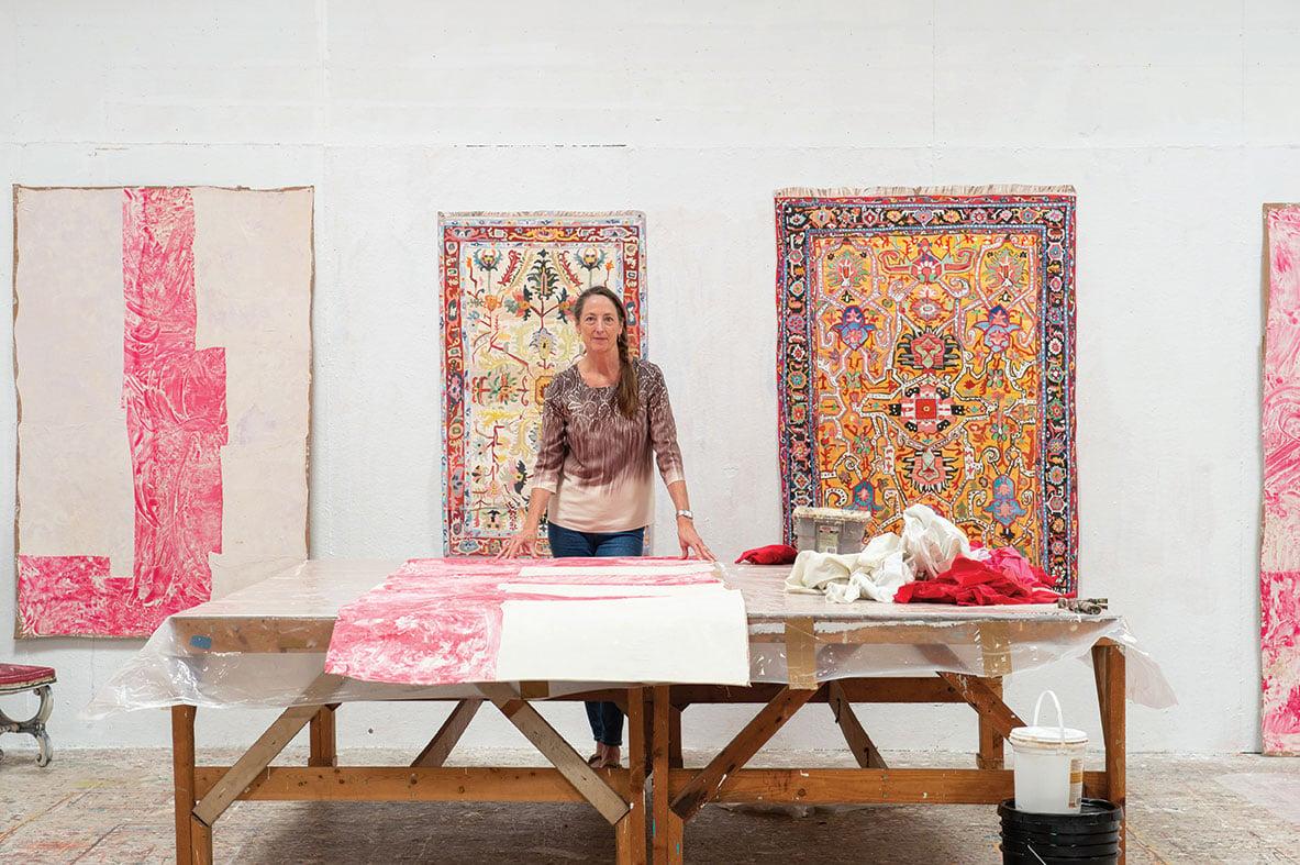 jean lowe and kim macconnel artists art san diego home studio