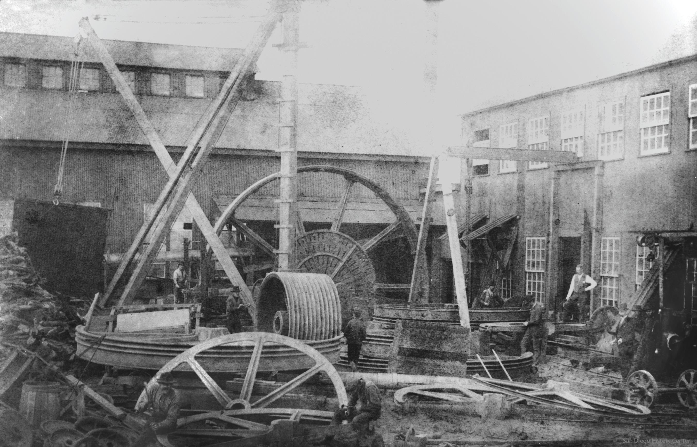 Coronado Foundry iron san diego history