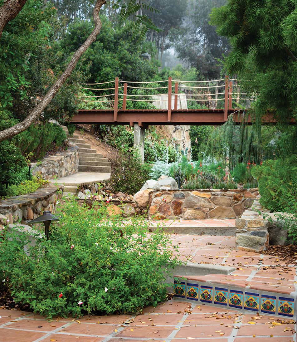 bridge garden hidden lake ranch san diego
