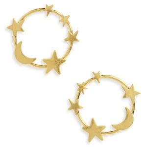 Madewell-Star-&-Moon-Hoop-Earrings