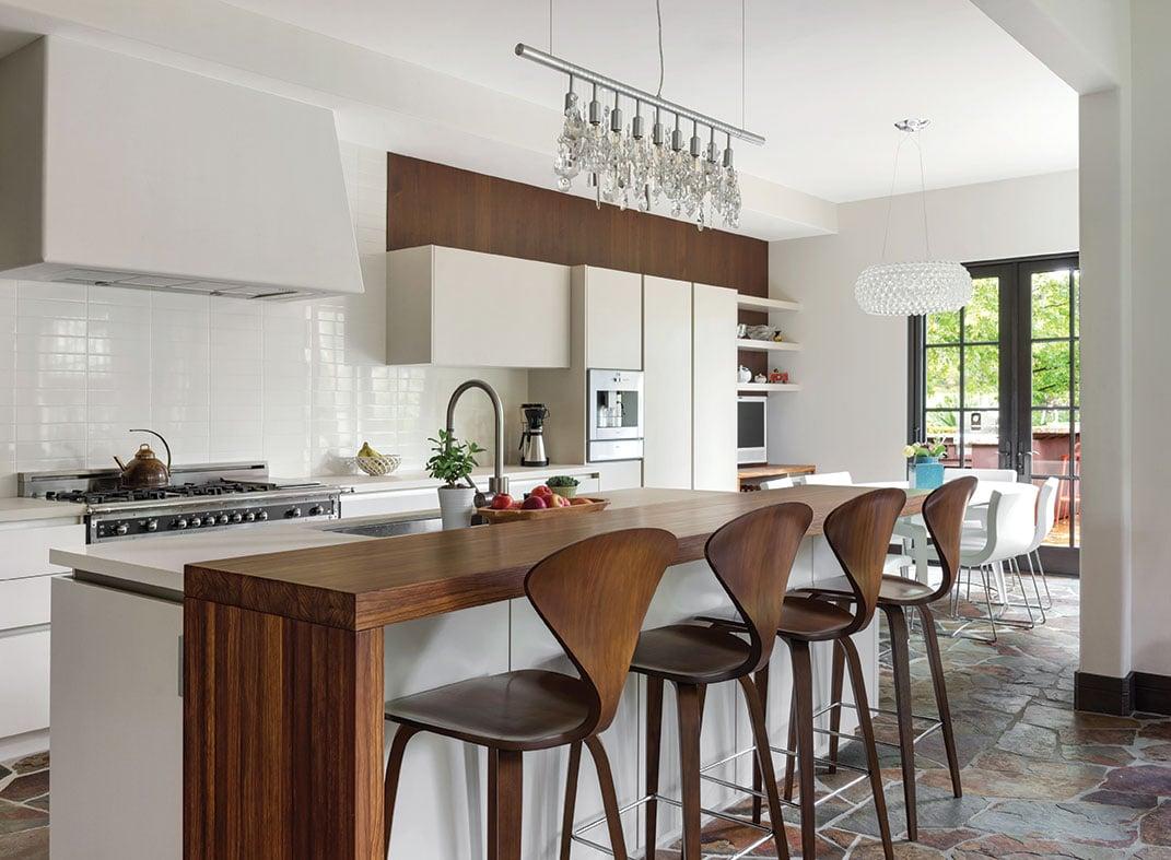 tuscan contemporary modern farmhouse kitchen