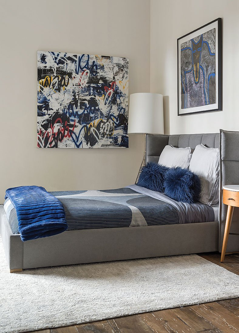 tuscan contemporary kids room