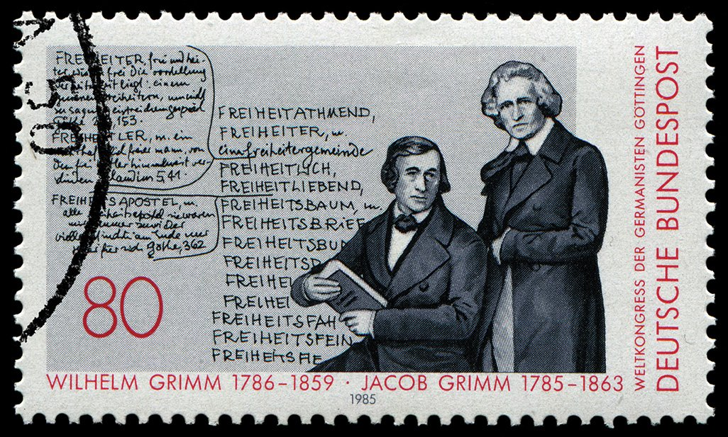 brothers grimm stamp