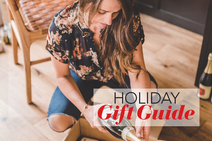 boozy gift guide cocktail gifts champagne