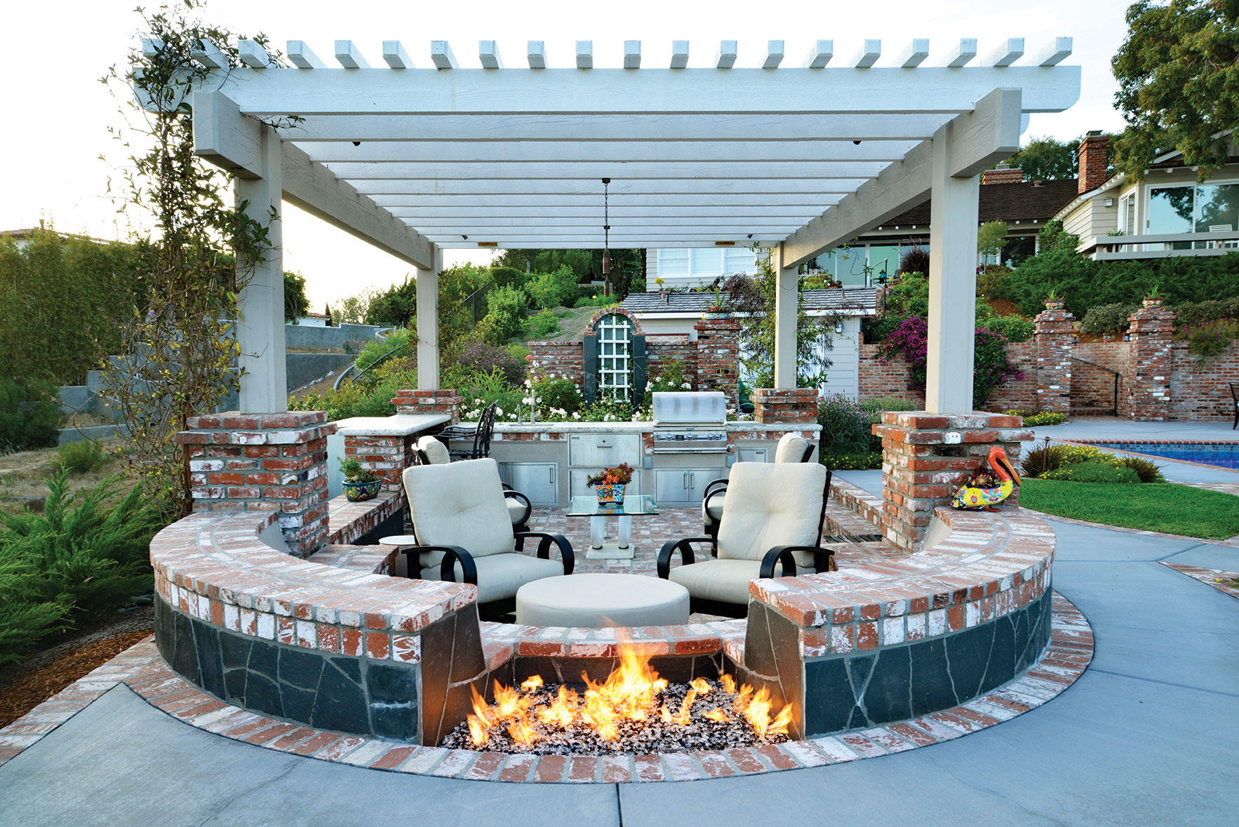 torrey pines landscape company outdoor living fire pit