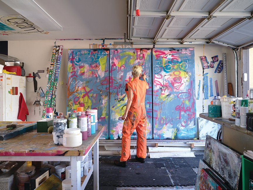 Ann Golumbuk Orange Jumpsuit